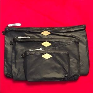 NEW set of 3 MZ Wallace pouches